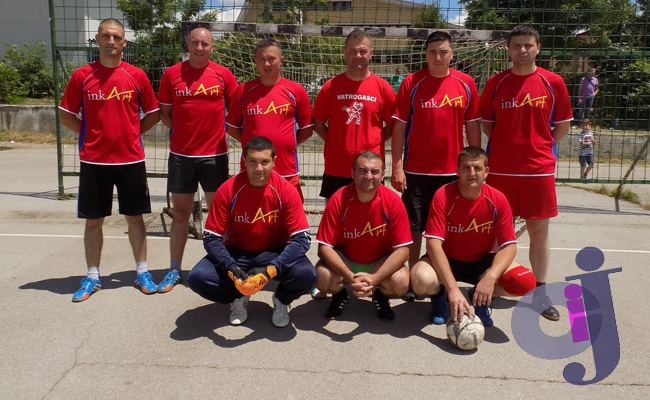 Policijski turnir ekipa Vatrgasci Leskovac