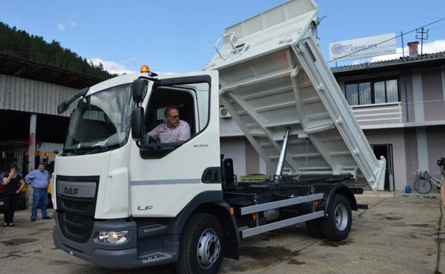 Nova masina za JKP Grdelica 001